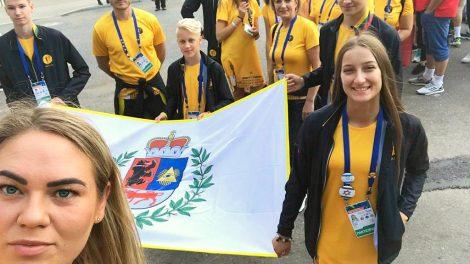 Šiaulių komanda grįžo iš pasaulio vaikų žaidynių
