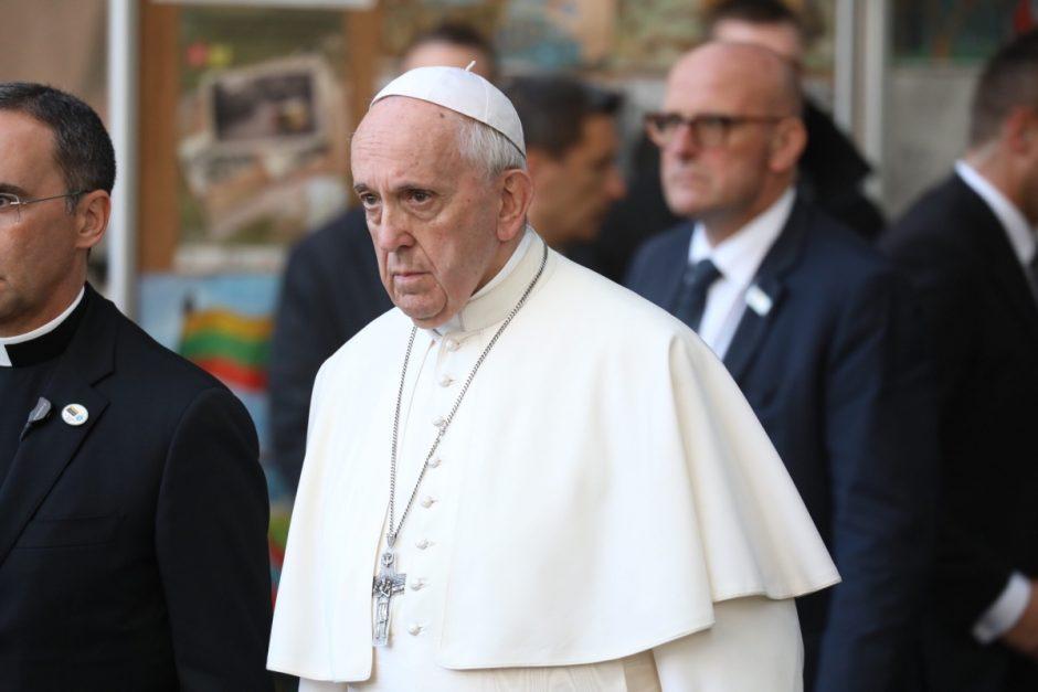 Popiežius: prostitucija – vergovė; klientai – nusikaltėlių bendrininkai