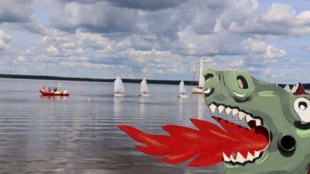 Vandens šventė prie Rėkyvos ežero dovanos gausybę pramogų ir atrakcijų