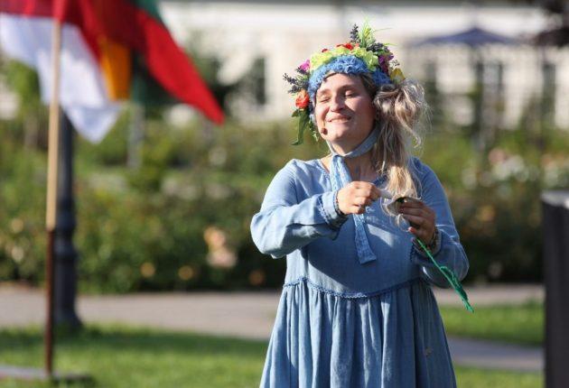 """Mažuosius festivalio žiūrovus džiugino """"Knygos teatro"""" spektaklis – Fot. E. Tamošiūnas"""