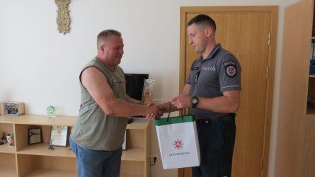 Apdovanotas romų vojažą sustabdęs Žaiginio miestelio gyventojas