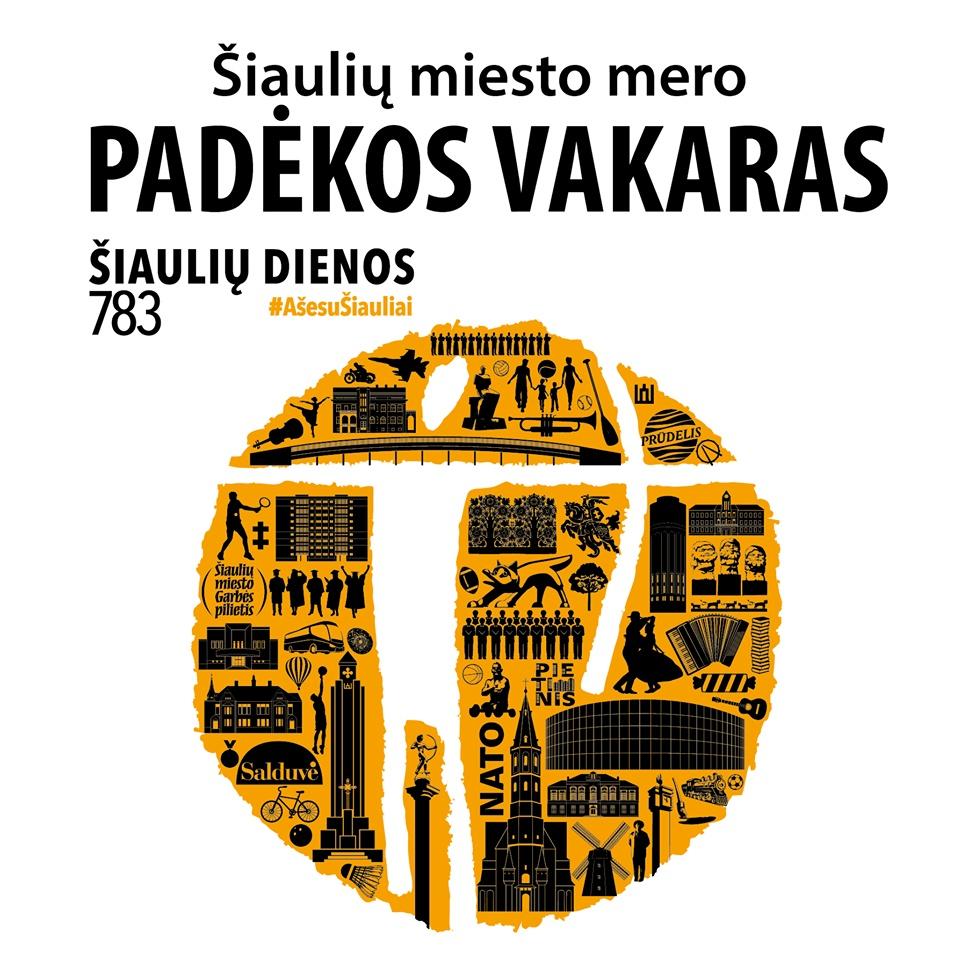 Šiaulių miesto mero Artūro Visocko padėkos vakaras