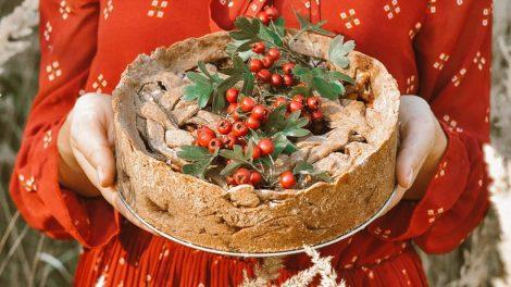 Obuolių pyragas be pridėtinio cukraus