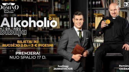 """""""Domino"""" teatras skelbia naujos premjeros bilietų prekybos startą!"""