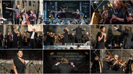 Chaimo Frenkelio vilos vasaros festivalio uždarymas: per muziką skleidėsi Sakartvelo ir Lietuvos draugystė