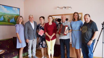 Lietuvos nacionalinio kultūros centro ekspedicija išklausė Klaipėdos rajono saviveiklininkus
