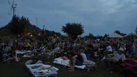 Šiauliai nemiega jau penkias naktis – miesto erdves užtvindė menas, kinas, koncertai, performansai