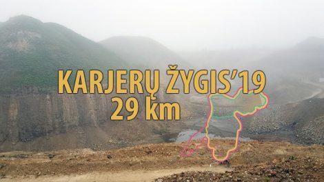 Karjerų žygis`19, šeštadienį 29 km
