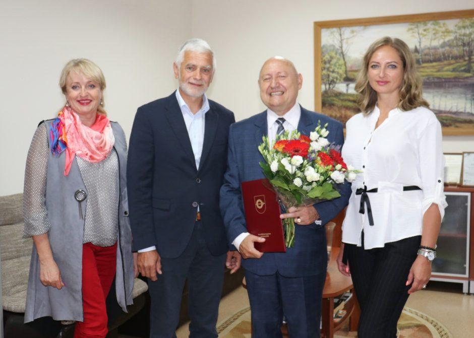 Jubiliejaus proga pasveikintas Rimantas Ramanauskas