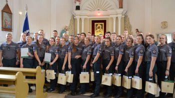 Į Šiaulių apskrities policijos gretas įsiliejo 32 jauni pareigūnai