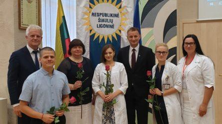Ligoninės medikų gretose – jauni gydytojai
