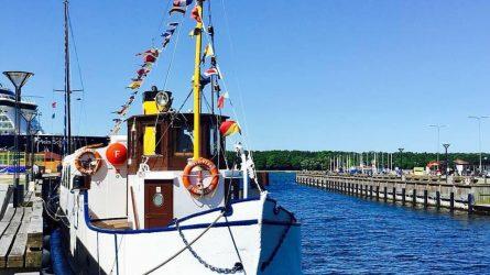 Laivas Forelle kviečia į nuotykį
