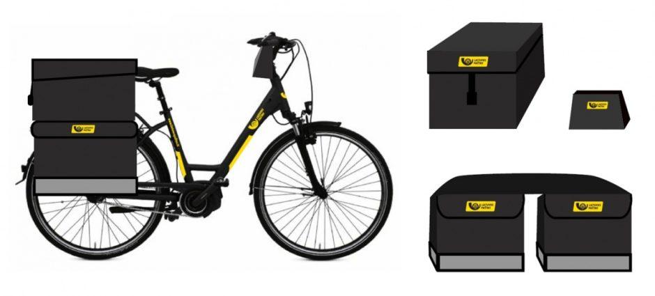 Vilniaus laiškininkas gaus elektrinį dviratį