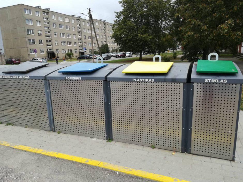 Misija įmanoma: siekiama sumažinti į sąvartyną patenkančių atliekų skaičių