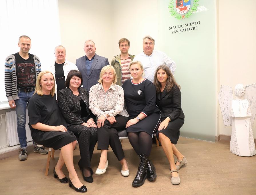 Darbą pradėjo 2019-2023 m. kadencijos Šiaulių miesto savivaldybės Kultūros taryba