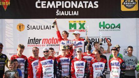 Šiauliuose paaiškėjo pirmieji Lietuvos motokroso čempionai