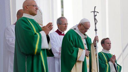 Popiežius Pranciškus 2019 m. spalio mėnesį yra paskelbęs Ypatinguoju misijų mėnesiu