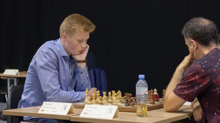 Pultinevičiaus debiutą Pasaulio taurėje apkartino pralaimėjimas Griščukui