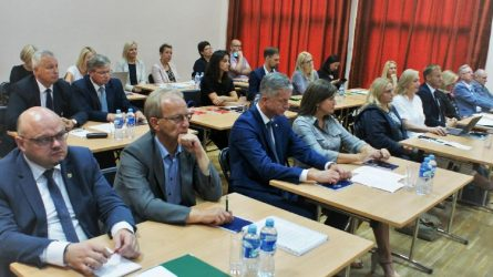 Šiaulių regiono plėtros tarybai pirmininkaus A. Visockas