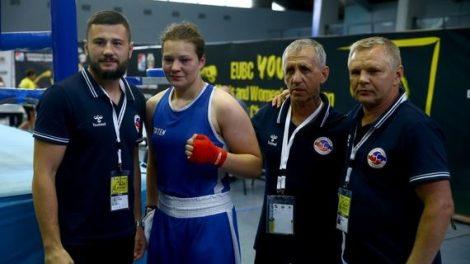 Boksininkė G. Diekontaitė – Europos jaunimo čempionė