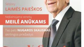 Dovana senjorams – nemokamas žurnalas