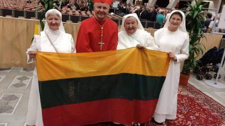 Ką popiežius Pranciškus sveikindamas pasakė kardinolui Sigitui?