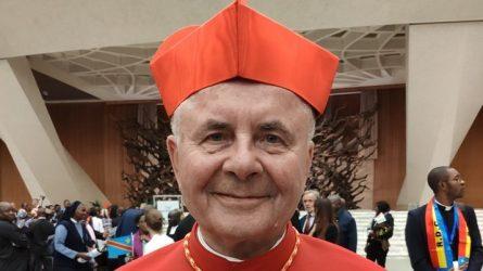 Sigitas Tamkevičius – Sant'Angela Merici titulo kardinolas