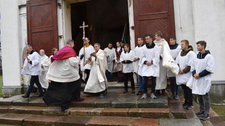 Kanoninė vyskupo vizitacija Viekšniuose