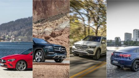 """Lietuvos metų automobilio 2020"" rinkimuose – net keturi ""Mercedes-Benz"" modeliai"