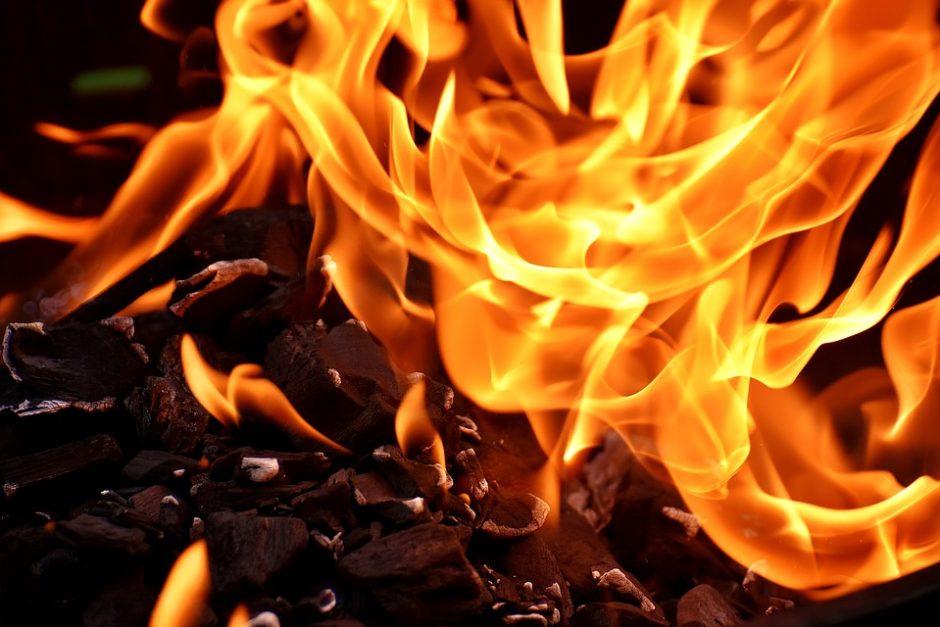 Pradėtas ikiteisminis tyrimas dėl Alytuje kilusio gaisro