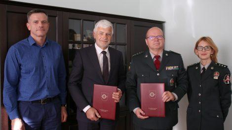 Savivaldybės ir pasieniečių bendradarbiavimas patvirtintas sutartimi