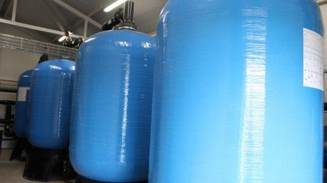 Užbaigti Akmenės miesto vandens gerinimo įrenginių statybos darbai
