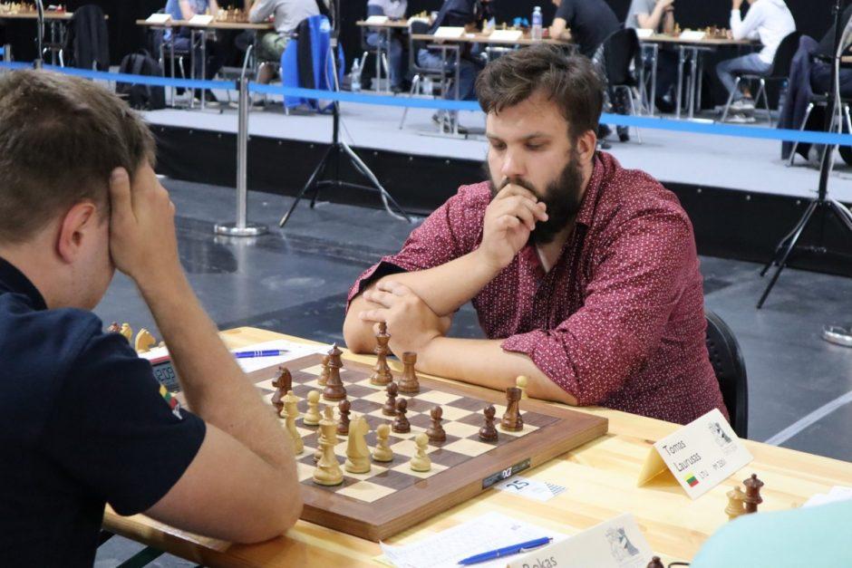 Lietuvos šachmatų čempionas T.Laurušas: Europoje galime nuveikti daug