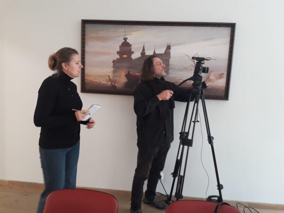 Palangiškio pomėgiais domėjosi Lietuvos televizija