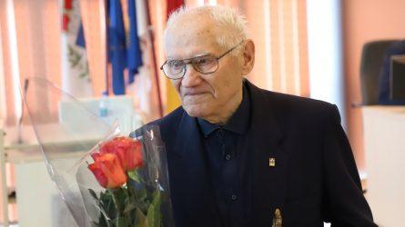 Pagerbta Šiaulių futbolo legenda