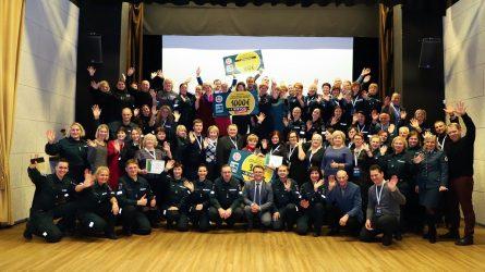 Naisiuose apdovanotos veikliausios Lietuvos saugios kaimynystės grupės