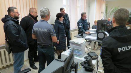 Joniškio ir Šiaulių policijos pareigūnus aplankė kolegos iš Latvijos