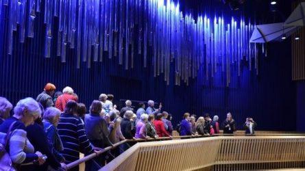 Kultūros ir meno fakulteto klausytojai - Ventspilyje