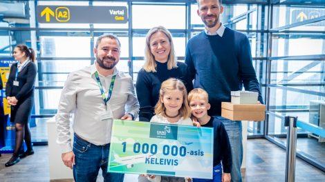 Kauno oro uostas aptarnavo milijoną keleivių – toliau telkiasi į augimą ir plėtrą