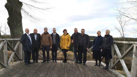 Ventos regioniniame parke diskutuota apie tolesnį bendradarbiavimą