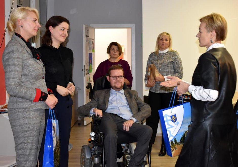 Mažeikiuose lankęsi Seimo nariai domėjosi švietimo ir socialiniais klausimais