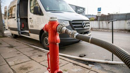Baigti didžiausio masto sostinės vandentiekio priežiūros darbai