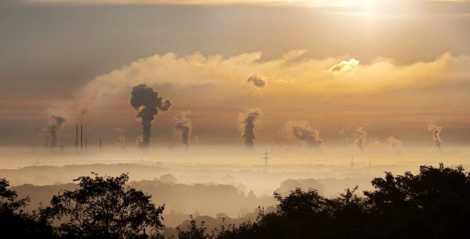 Aplinkos bei patalpų oro kokybės prastėjimas šildymo sezono metu