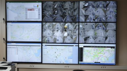 Kaune diegiamas modernus vaizdo stebėjimo kamerų tinklas