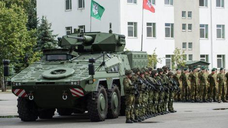 Vyriausybė pritarė principinei kariuomenės struktūrai ir ribiniams skaičiams