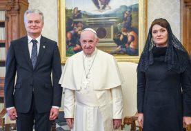 Prezidentas: Popiežius meldžiasi už mūsų šalies vienybę ir gerovę