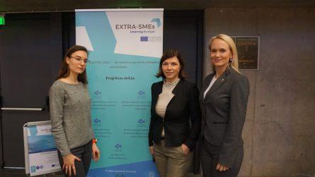 """Projektas EXTRA-SMEs verslo ir pasiekimo parodoje """"Šauliai 2019"""""""