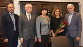 Pasveikinta inovatyviausia mokytoja Angelė Pakamorienė
