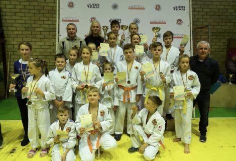Lietuvos moksleivių dziudo čempionate – net 45 medaliai