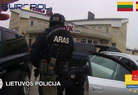 Demaskuota tarptautiniu mastu veikusi nusikalstama organizuota grupė (video)